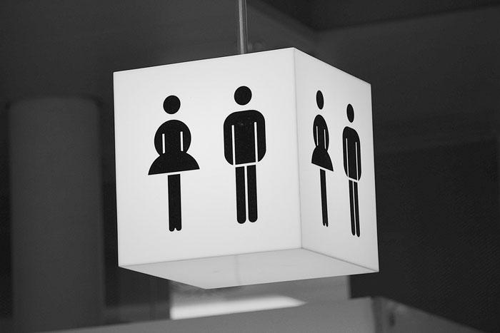 Detroit Ada Restroom Signs