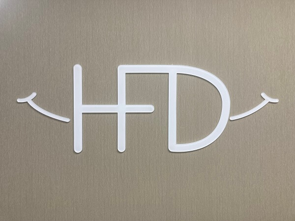 HFD interior wall sign in Detroit