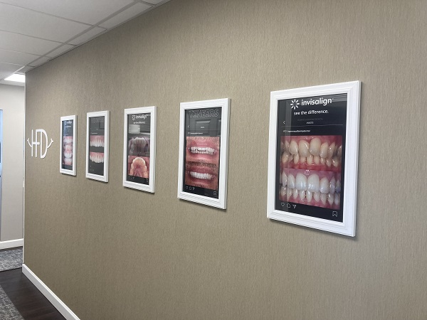 Dental clinic wall decals by Detroit Signs and Graphics